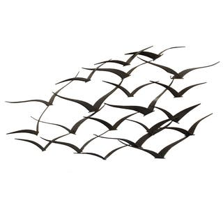 Handcrafted Flock of Metal Flying Birds Wall Art|https://ak1.ostkcdn.com/images/products/8035158/P15395297.jpg?impolicy=medium