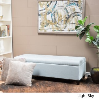 Mission Tufted Fabric Storage Ottoman Bench by Christopher Knight Home (2 options available)