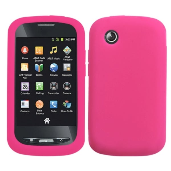 INSTEN Solid Hot Pink Phone Case Cover for ZTE Z990 Avail