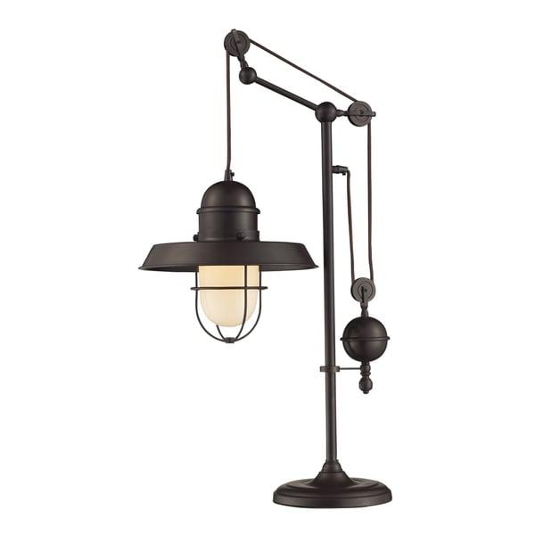 Dimond Lighting Oil-rubbed Bronze Metal 1-light Table Lamp