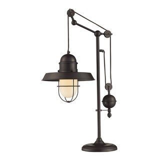 Dimond Lighting 1-Light Oil Rubbed Bronze Table Lamp