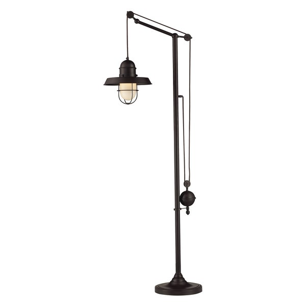 Dimond Lighting 1-light Floor Lamp in Oiled Bronze Finish
