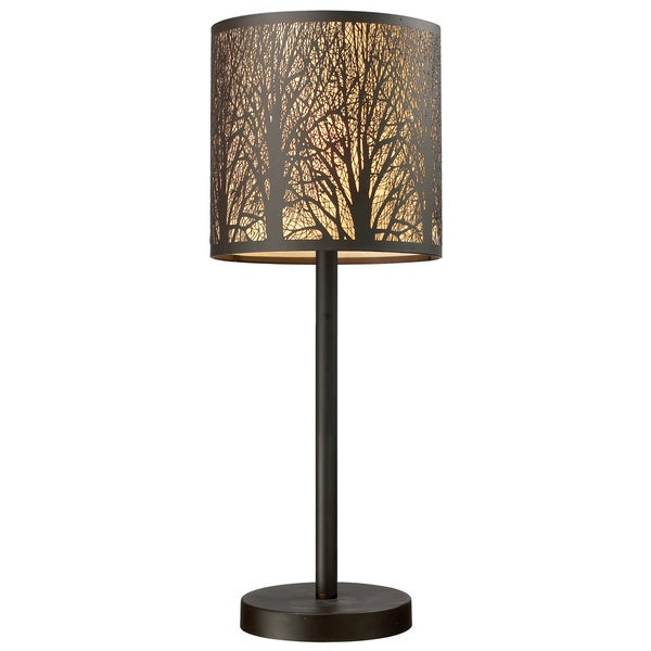 Dimond Lighting LED 1-light Table Lamp in Aged Bronze Finish