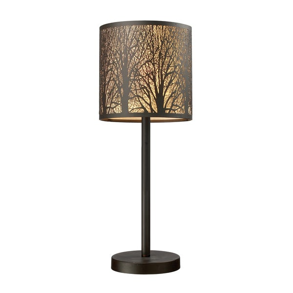 Dimond Lighting 1-light Table lamp in Aged Bronze Finish