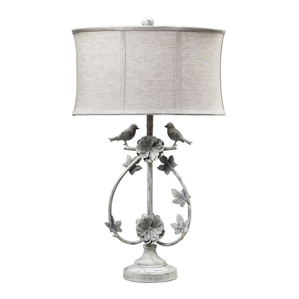 Dimond Lighting Saint Louis Heights 1-light Antique White Table Lamp