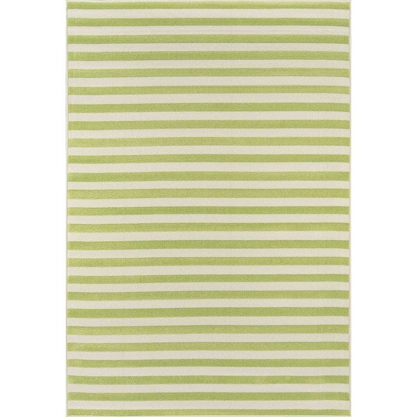 "Momeni Baja Stripe Indoor/Outdoor Area Rug 8'6"" x 13' - 8'6"" x 13'"