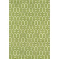 Momeni Baja Balthazar Trellis Green Indoor/ Outdoor Area Rug - 7'10 x 10'10