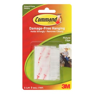 Command Clear Damage Free Hanging Picture Clips