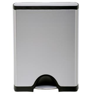 simplehuman Rectangular Step Brushed Stainless Steel Trash Can (13 Gallons)|https://ak1.ostkcdn.com/images/products/8035753/P15395777.jpg?impolicy=medium