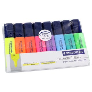 Staedtler 8 Pack Textsurfer Classic Highlighters