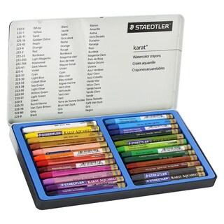 Staedtler Karat Aquarell Premium Watercolor Crayons