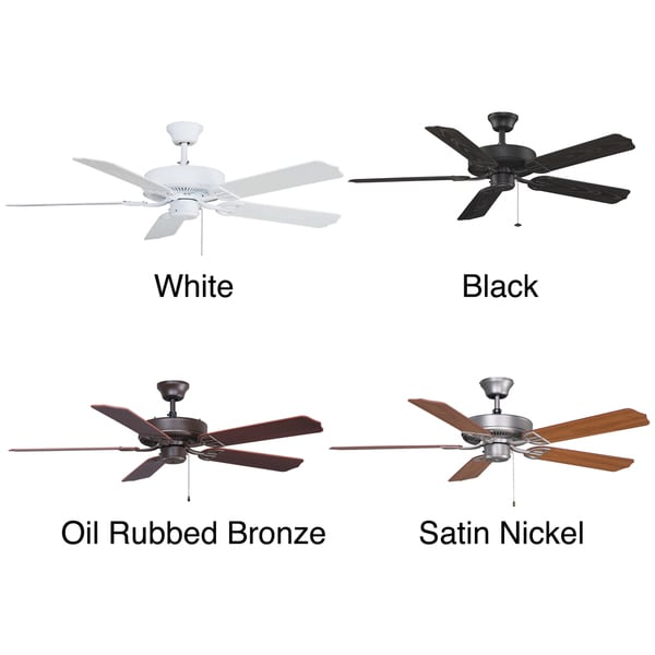 Fanimation Aire Decor 52-inch Damp Location Energy Star Rated Ceiling Fan