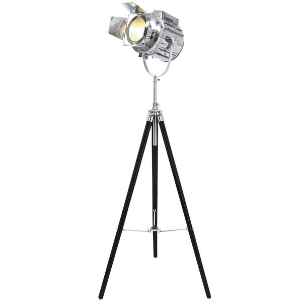 Hollywood Studio 'Director's Spotlight' 66-inch Tripod ... - Hollywood Studio 'Director's Spotlight' 66-inch Tripod Floor Lamp
