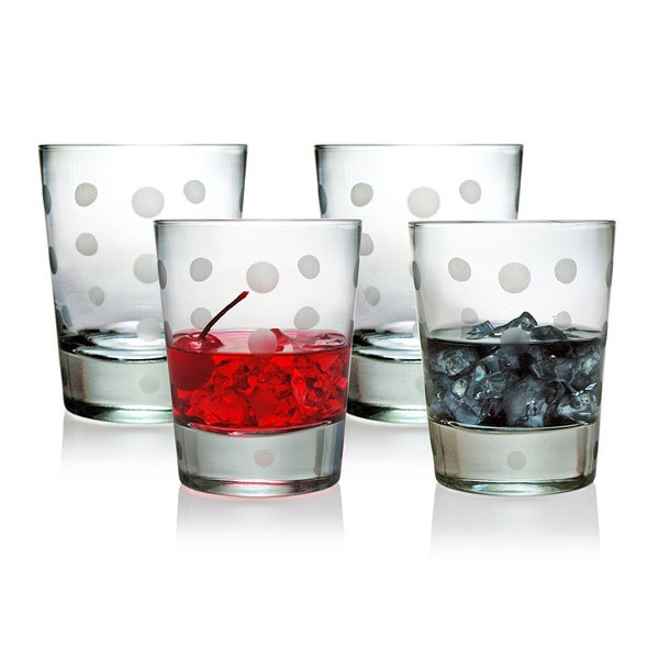 Pearls Collection Double Old Fashioned Glasses (Set of 4)