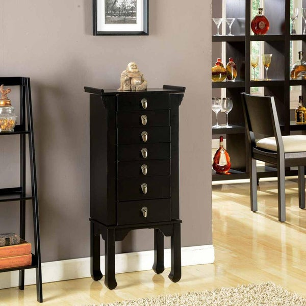 Ningbo Way 6 Drawer Jewelry Armoire