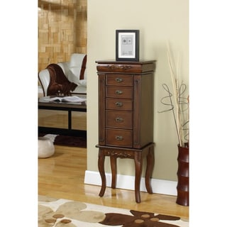 Morrel 6 Drawer Jewelry Armoire