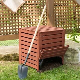 Solid Wood Slatted Compost Bin