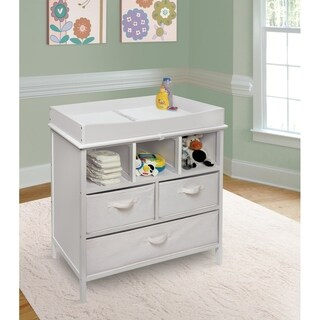 Marvelous Estate Baby White Changing Table