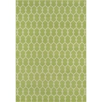 Clay Alder Home Balthazar Trellis Green Indoor/outdoor Area Rug - 6'7 x 9'6