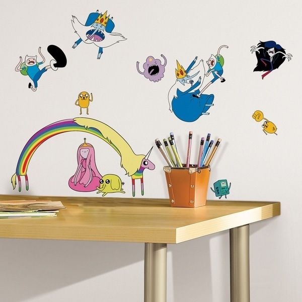 Adventure Time Peel & Stick Wall Decals