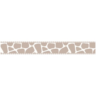 Sweet JoJo Designs Taupe and Off-white Giraffe Wall Border