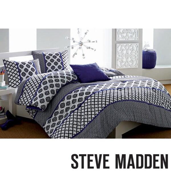 Steve Madden Jade 3-piece Comforter Set