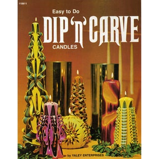 Yaley Books-Dip N Carve Candles Book