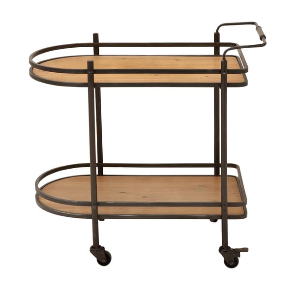 Casa Cortes ecWorld Contemporary Mobile Tea, Serving and Kitchen Bar Cart