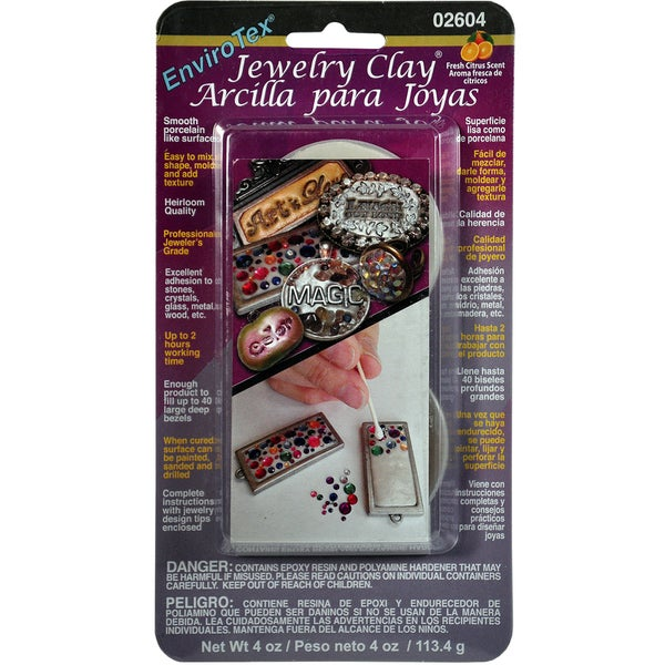 Envirotex Jewelry Clay 4 Ounces-