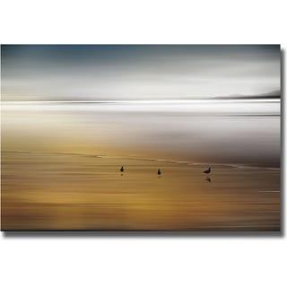 Marvin Pelkey 'Quiet Invitation' Canvas Art