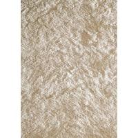 Momeni Luster Shag White Hand-Tufted Shag Rug - 8' x 10'