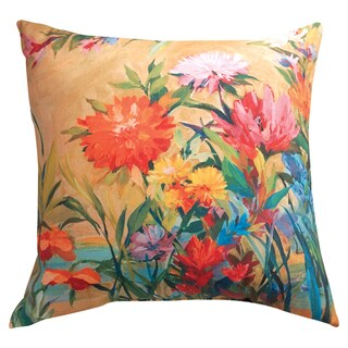 Manual Woodworkers 'Martha's Choice' Indoor/ Outdoor Floral Throw Pillow