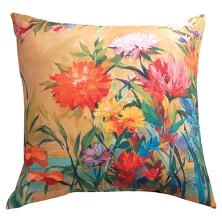 'Martha's Choice' Indoor/ Outdoor Floral Throw Pillow