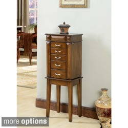 Grandport 5 Drawer Jewelry Armoire