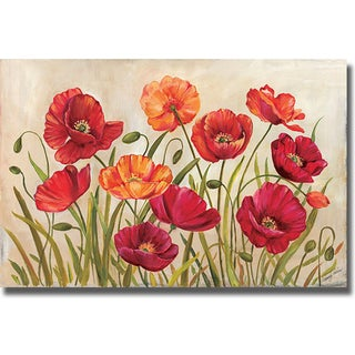 Kimberly Poloson 'Poppies' Canvas Art