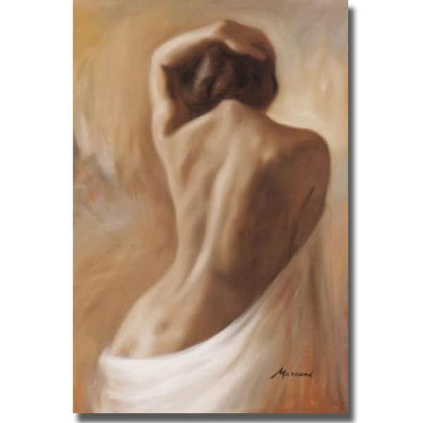 Julianne Marcoux 'Figurative One' Canvas Art
