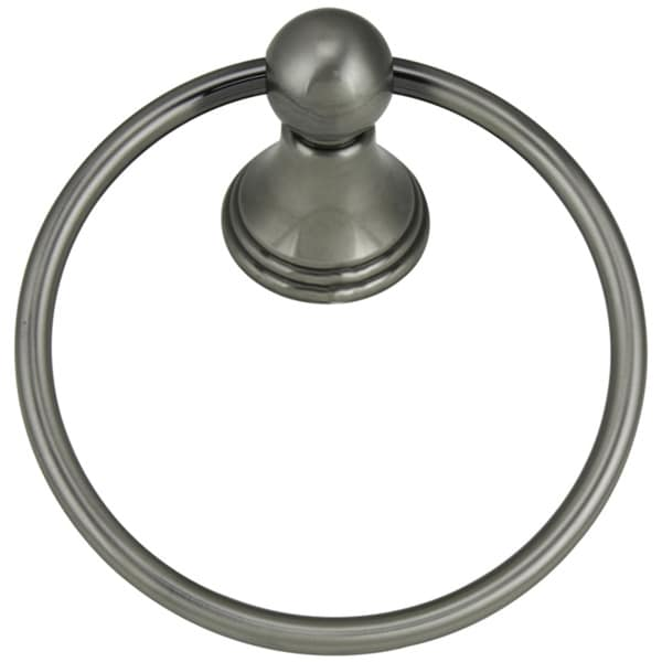 Jado Victorian Antique Nickel Towel Ring