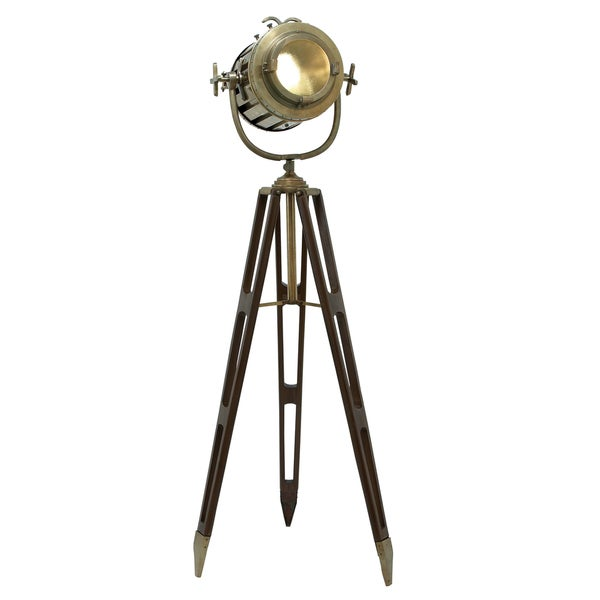 Director's Spotlight 6-feet Decorative Tripod Floor Lamp ...