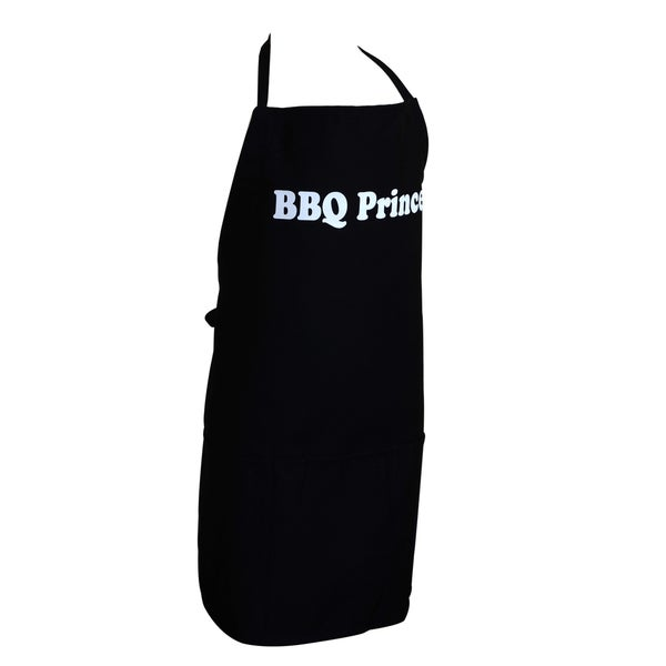 Boys Black BBQ Prince Apron
