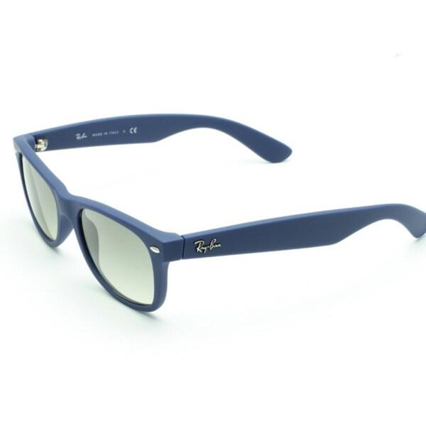 Ray-Ban Unisex 'New Wayfarer' Light Blue Sunglasses