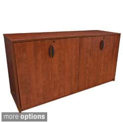 72-inch Storage Cabinet Buffet (Option: Red)