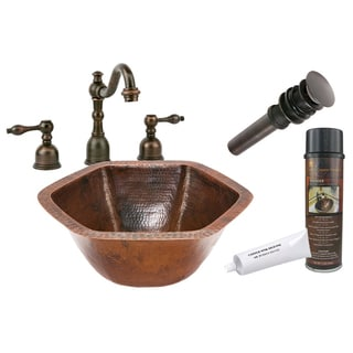 Premier Copper Products Widespread Faucet Package
