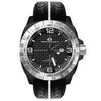 Oceanaut Men's Fair-Play Black/Silver Stainless Steel Watch