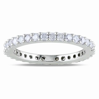 Miadora 14k Gold 3/4ct TDW Diamond Eternity Band