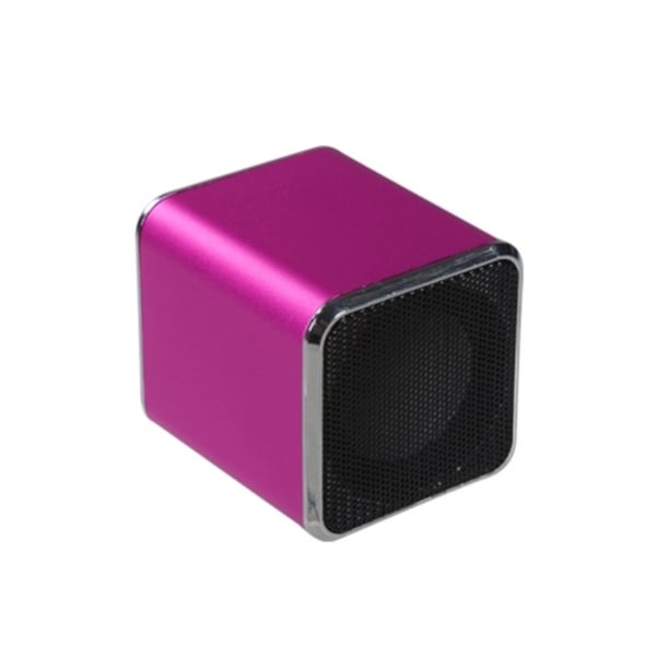 INSTEN Mini Hot Pink Speakers for PC MP3 Player Cell