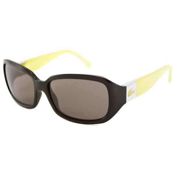 Lacoste Women's L505S Rectangular Sunglasses with Hard Case