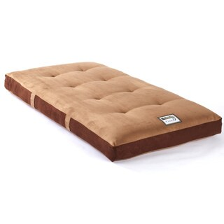 Somette Cloud 9 Microsuede Double Sided Innerspring Bunk Bed/Platform Mattress - Brown