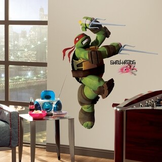 Teenage Mutant Ninja Turtles Raph Peel & Stick Giant Wall Decals