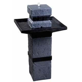 Newcastle 34-inch Outdoor Solar Fountain