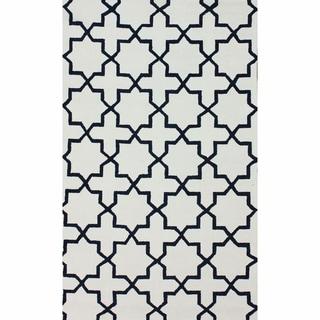 nuLOOM Handmade Marrakesh Trellis Cotton Chenille Area Rug (5' x 8')